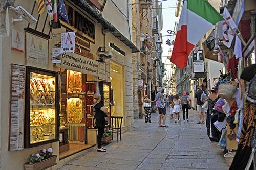 Alghero, Altstadt
