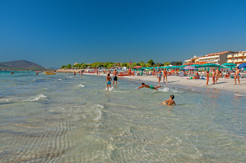 Alghero, Strand