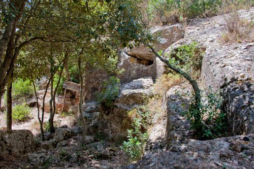 Römischer Steinbruch