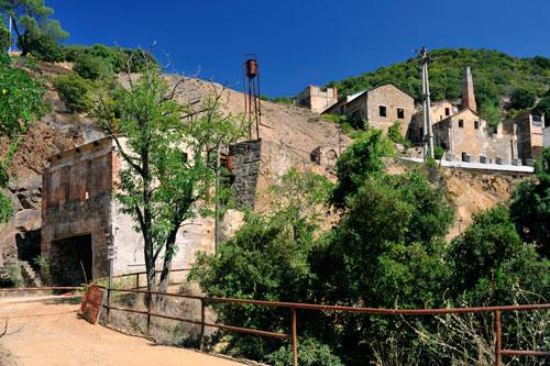 ehemalige Bergwerk-Anlagen der Mineria su Zurfuru