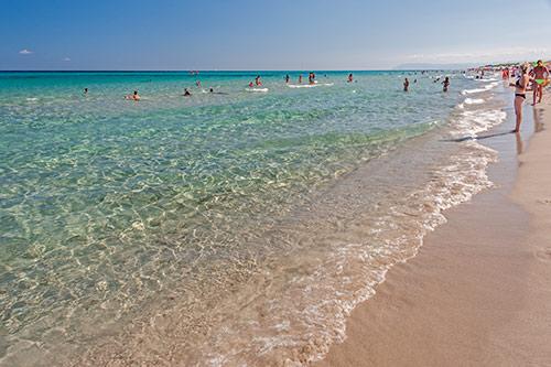 Sandstrand an der Spiaggia di Berchida