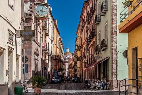 Bosa, Corso Vittorio Emanuele
