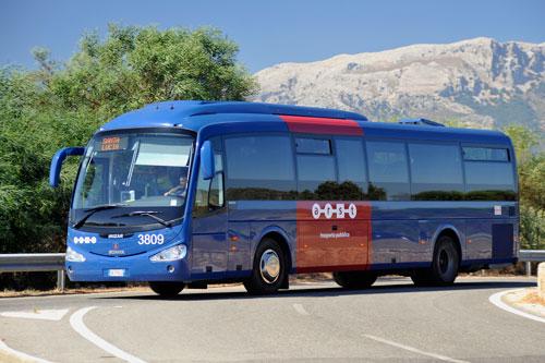 mit dem Bus durch Sardinien