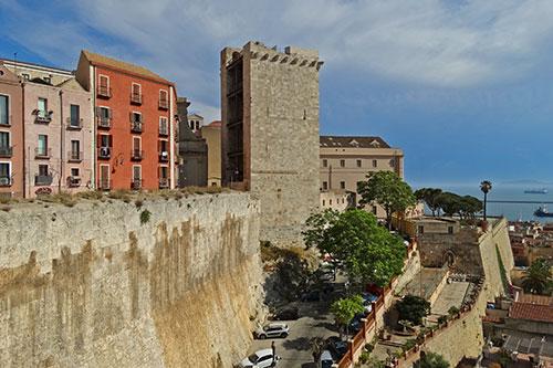 Cagliari, das Castello