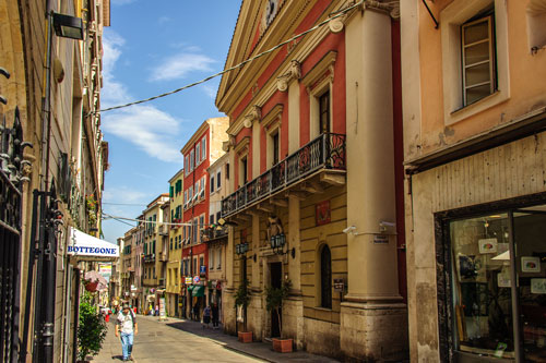 Sassari, Corso Vittorio Emmanuele