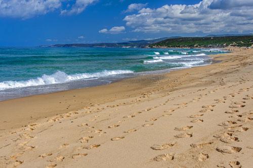 Costa Verde, Strand von Piscinas