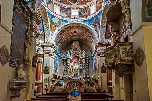 Fonni, Basilika - Innenansicht