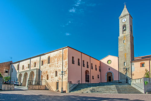 Fonni, Basilika dei Martiri