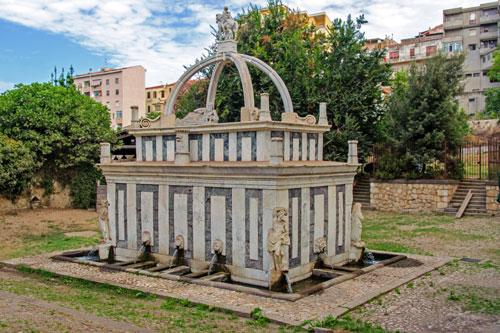 Sassari, Fontana di Rosello