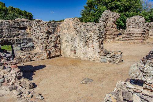 Fordongianus, römische Therme