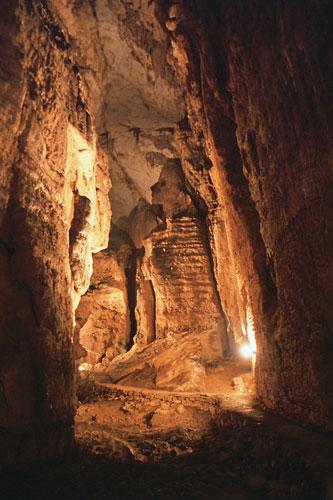 Grotta su Marmuri, Felsgebilde