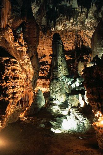 Grotta su Marmuri, Tropfsteine