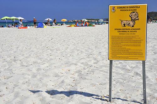 Hunde-Strand