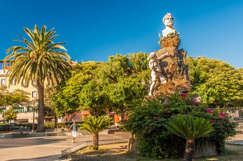 Iglesias, Piazza Sella