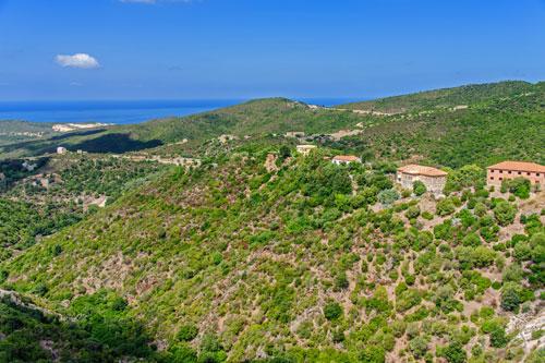 Ingurtosu, Blick zur Costa Verde