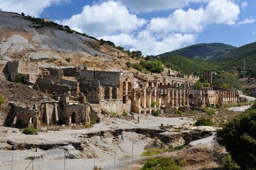 Ingurtosu, Ruinen von Naracauli