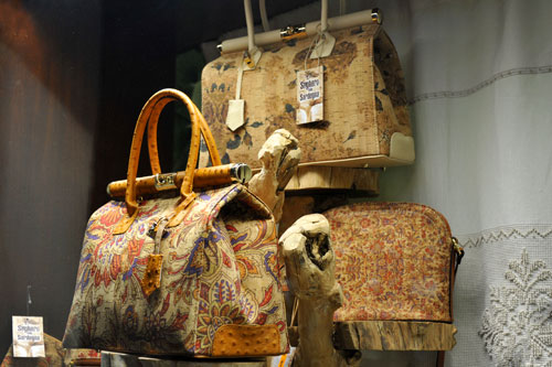 Handtaschen aus Kork