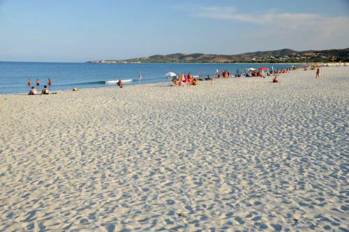 am Strand von La Caletta