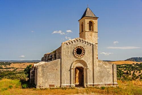 Martis, Kirche San Pantaleo