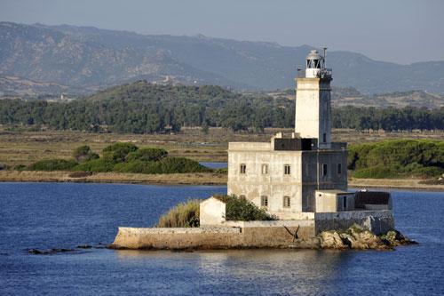 Olbia, Einfahrt in den Hafen