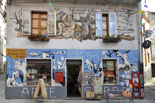 Murales in Orgosolo