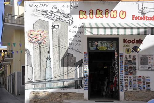 Murales von Orgosolo 9/11