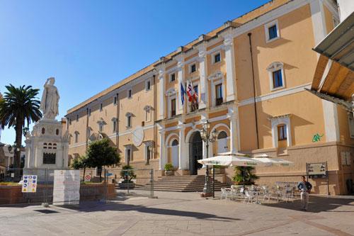 Oristano, Rathaus