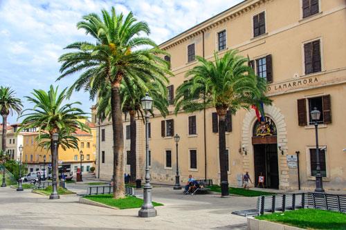 Sassari, Piazza Castello