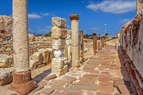 Porto Torres, römische Siedlung