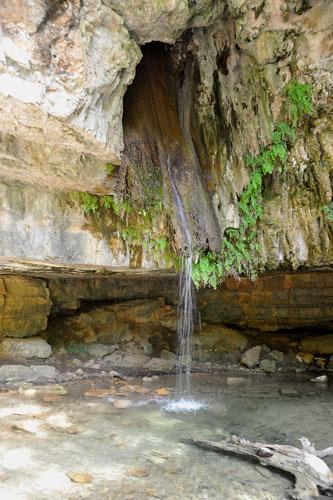 Wasserfall Su Stampu de Su Turrunu