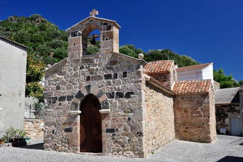 Ittireddu, Kirche Santa Croce