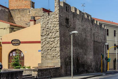Sassari, Stadtmauer
