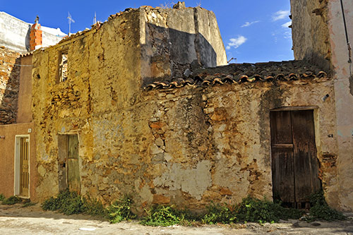 Siniscola, historisches Gebäude