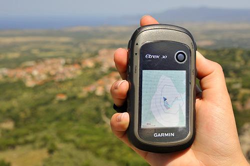 Wandern mit Garmin GPS und Open Street Map