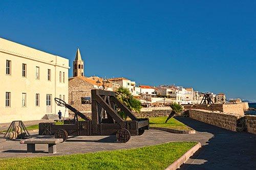 Alghero, Katapult